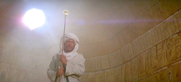 raiders of the lost ark staff of ra